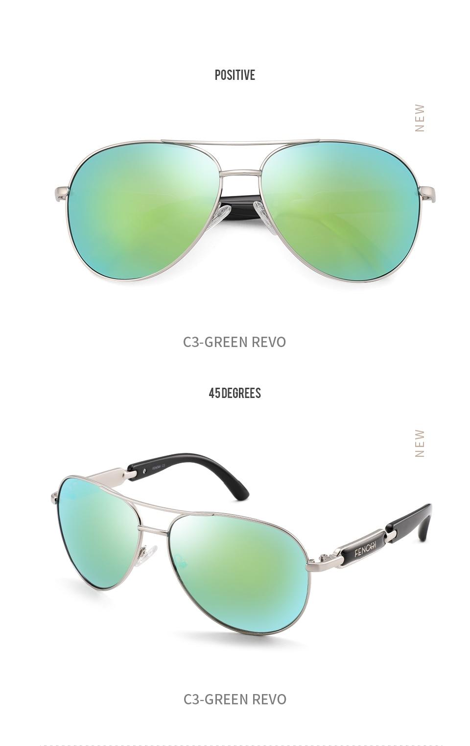 Hbe2839b6a1344f078807cbf3fadb28e5U FENCHI Polarized Sunglasses Women Vintage Brand Glasses Driving Pilot Pink Mirror sunglasses Men ladies oculos de sol feminino