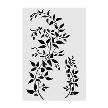 A4 Size DIY Craft Layering Stencil Template For Wall Painting Decorative Scrapbooking Stamping Photo Album Decor 15 15cm diy craft art stencil template for wall tile painting scrapbooking stamping album decor embossing card