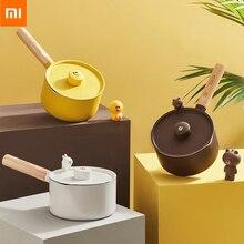 منتج جديد من شاومي سوليستا لاين فريندز وعاء حليب صغير غير لاصق طلاء متعدد الألوان للقلي والشوي
