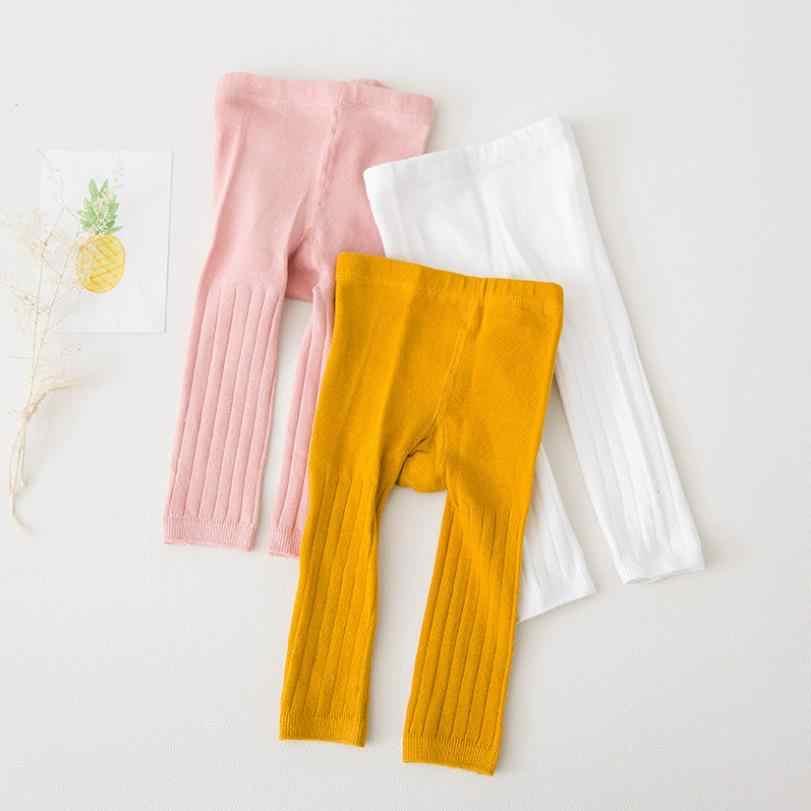 Trẻ Tập Đi Cho Bé Thời Trang Cotton Dệt Kim Legging Xuân Thu Đông Bé Gái Quần Sơ Sinh Trẻ Em Vớ Cho Bé Gái 0-3 Tuổi quần Legging