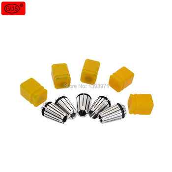 ER11 Engraving Machine Chuck Set 1 to 8MM Contains 16pcs Collets