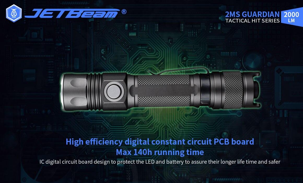 Jetray lanterna de led de alta potência,