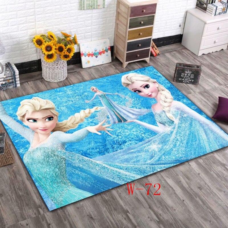 Disney reine des neiges Elsa tapis pour enfants enfants chambre maison salon tapis tapis de sol grand moderne mignon porte tapis extérieur intérieur