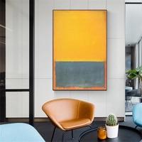 Mark Rothko Zeitgenössische Abstrakte Expressionismus Kunst-Poster Fine Art Print Poster Decor Leinwand Malerei Weihnachten Geschenk für Zimmer