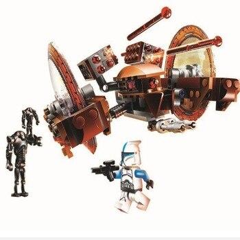 Bela 10370 Compatible Lepinblock Star Wars Hailfire Droid 75085 Building Blocks Dolls Educational Toys for Children Gift 1