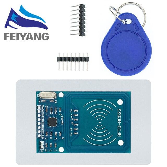 10 chiếc MFRC 522 RC 522 RC522 Ăng Ten RFID IC mạng Không Dây Cho Arduino IC KHÓA SPI Nhà Văn Đầu Đọc Thẻ IC Gần mô đun