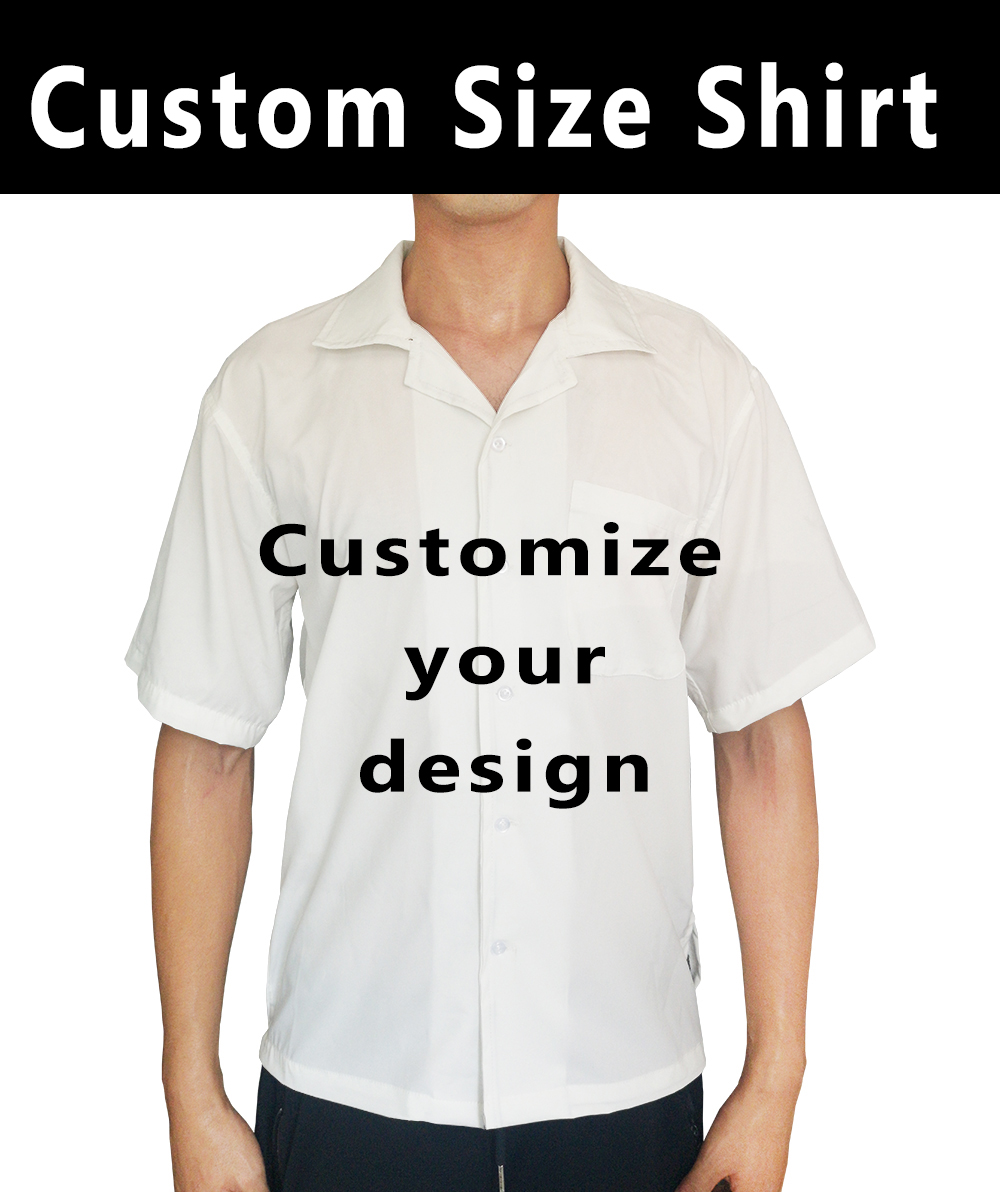 2019 Summer Short Sleeve 3D Print Custom Design Man Casual Vintage Shirt