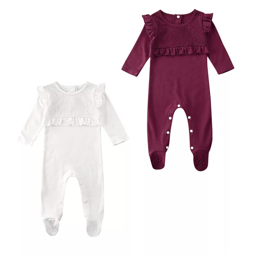 Baby Rompers Newborn Baby Girl Clothes Long Sleeve Baby Boy Clothes Roupas De Bebe Cotton Outwear Spring Summer Baby Jumpsuit