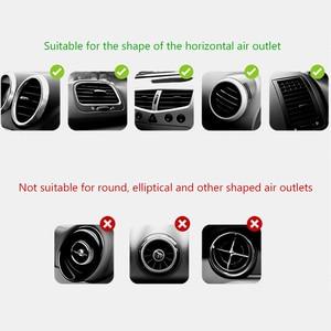 Image 5 - CBAOOO הכבידה אוניברסלי רכב מחזיק טלפון עבור נייד טלפון רכב vent bracket ללא מגנטי נייד סוגר עבור כל נייד טלפונים