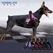 Регулируемый нейлоновый жилет для собак Светоотражающий Жилет