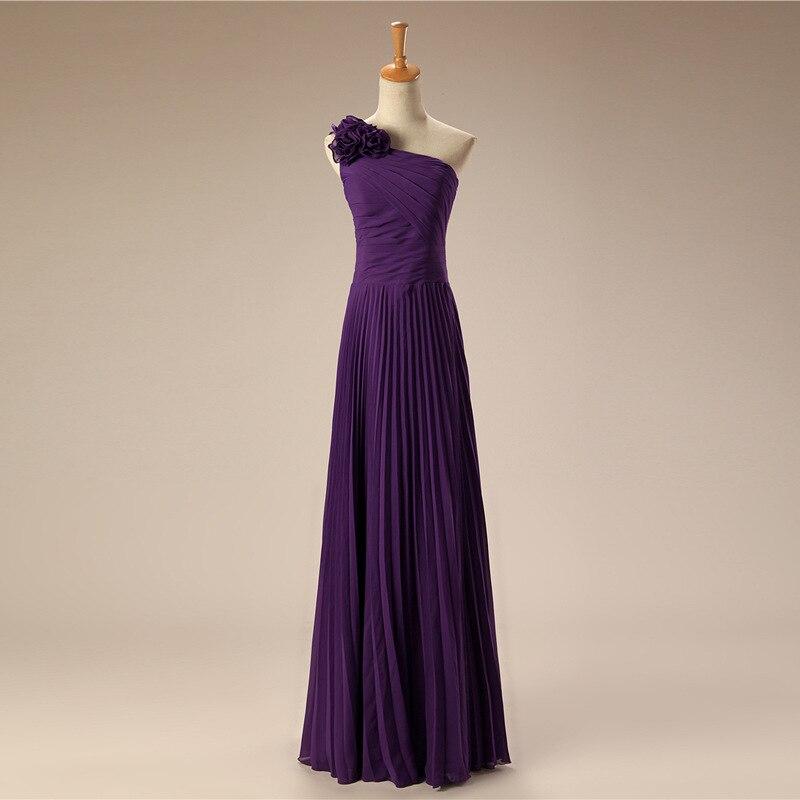Violet mousseline de soie robes de soirée Tiffany bal robe de soirée robe formelle femmes élégantes grande taille mère de la mariée robes vert
