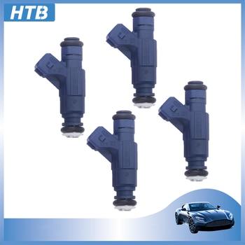 Nuevo inyector de combustible Original 1 juego 4, boquilla 0280156065 06B133551M para Audi A4 VW Passat 3B3 3B6 1,8 l Seat Exeo Skoda Superb