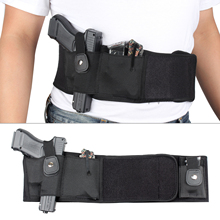 Tactical Belly Band Holster Military Shooting Belt Gun with Magazine Pouch for Glock Beretta USP 1911 Revolver