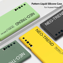 Liquid Silicone Pattern Soft Case For Huawei Mate Xs Case Fashion Elk Shockproof Protection Cover For Huawei Mate Xs Case Fundas