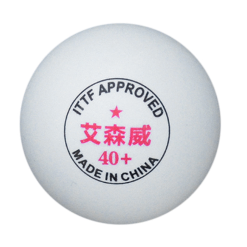 ASENVER ABS Table Tennis New Material One-Star High-Quality Game Training Ball