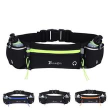 Marathon Dual Pocket Running Bag Trail Running Waist Belt For Phone Unisex Sports Fanny Pack Fitness Waist Pack Water Bottle