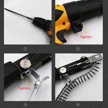 Chain Electric-Drill Screw-Gun Nail-Gun-Adapter Woodworking-Tool Cordless Attachment