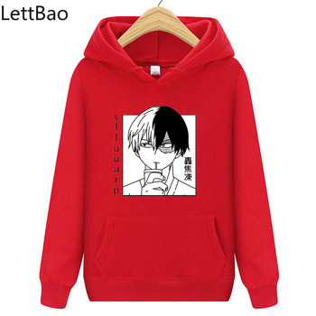 Woman sweatshirt My Hero Academia Todoroki Shoto funny Anime cartoon Long Sleeve Casaul hoodies autumn oversize Pullovers Tops 1