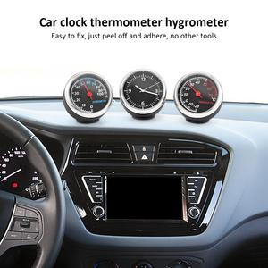3Pcs/Set Mini Car Clock Car Th