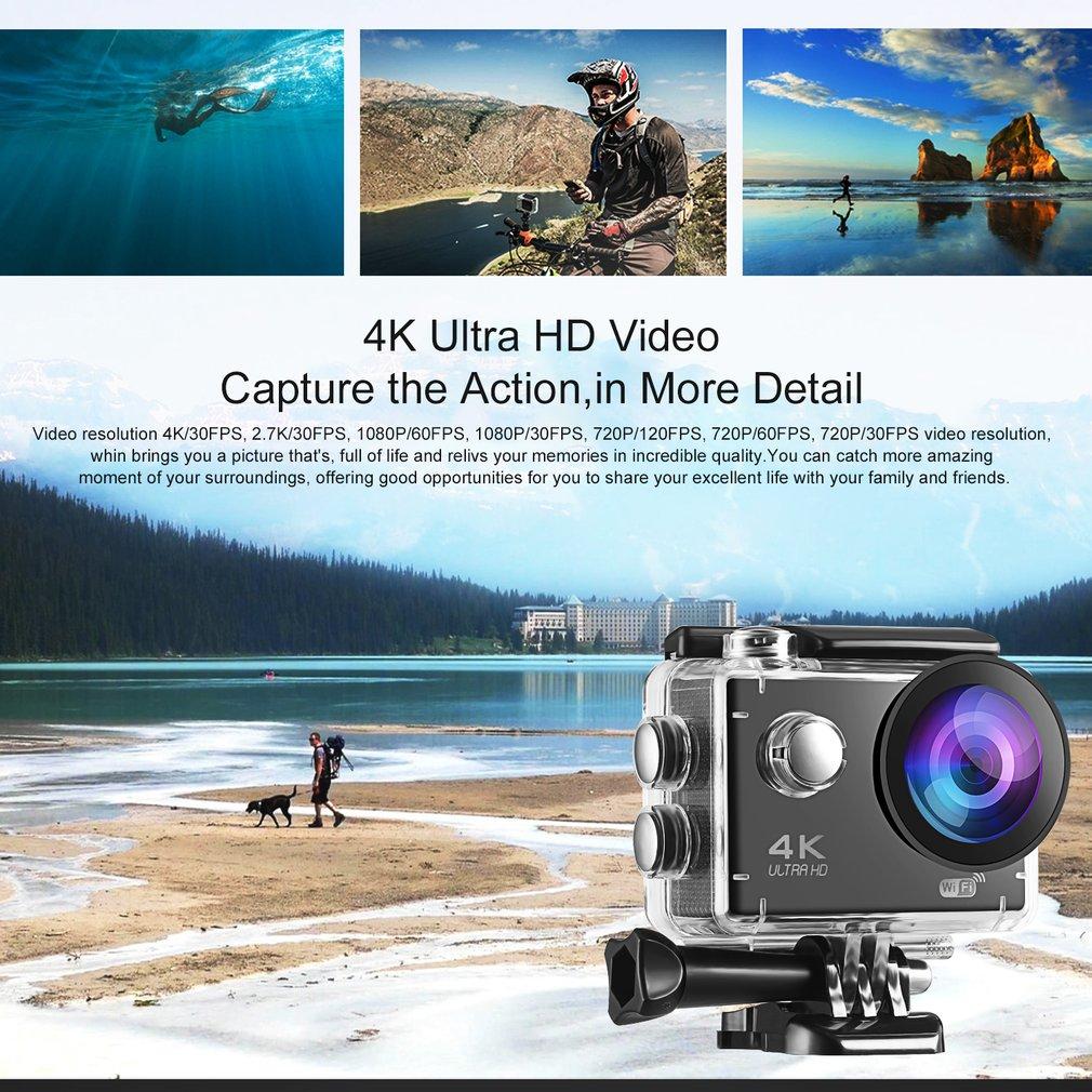 Action Camera Ultra HD 4K / 30fps WiFi 2 0