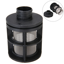 25mm Auto Air Intake Filter Silencer Black Fit For Dometic Eberspacher Diesel Heater Heating Steel Mesh