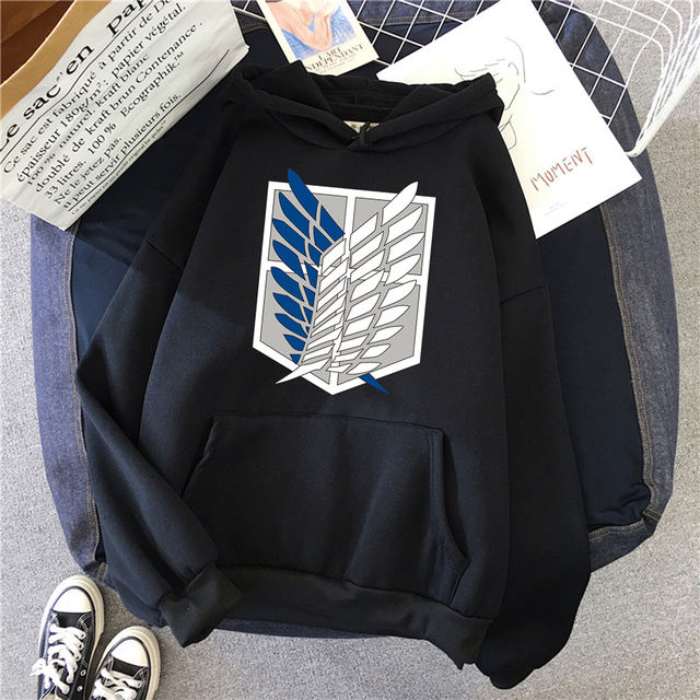 ATTACK ON TITAN THEMED HOODIE (28 VARIAN)