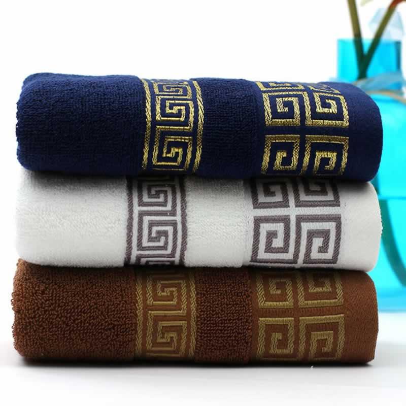 33x74cm Soft Cotton Bath Towels Beach Shower Towel Adults Absorbent Terry Luxury Hand Face Sheet Adult Men Women Basic Towels