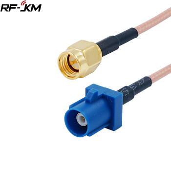 1pcs FAKRA C Connector to SMA Male cable GPS Antenna Fakra Extension Cable RG316 15CM Pigtail for VW for Seat for Benz for ford image