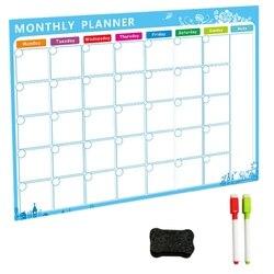 Магнитная доска, доска для сухого стирания, магниты, холодильник на холодильник, список, ежемесячный ежедневник