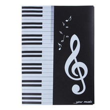 File-Holder Piano-Sheet Musician Note A4 for Revise Student Staff Song Writer Artist
