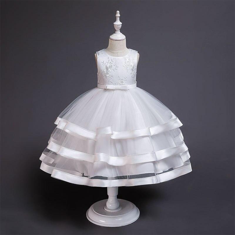 Iraq Wen Qi Europe And America Women's Big Kid Performance Wedding Dress Tutu CHILDREN'S DAY Flower Boys/Flower Girls Princess S