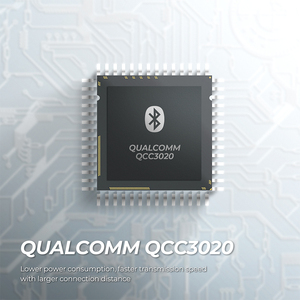 Image 3 - SoundPEATS TrueAir QCC3020 Bluetooth 5.0 TWS אוזניות HiFi סטריאו APTX Wireless אוזניות CVC רעש ביטול 30 שעות זמן לשחק