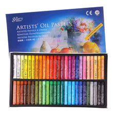 Oil-Pastel Drawing-Pen School-Stationery Artist 48-Colors for Student Graffiti