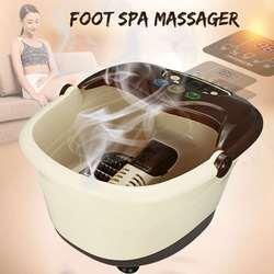 Fuß Badewanne Haushalt Füße Massage Voll Automatische Heizung Fuß Pneumatische Roller Füße Barrel Fuß Gesundheit Pflege Fußbad Heiten