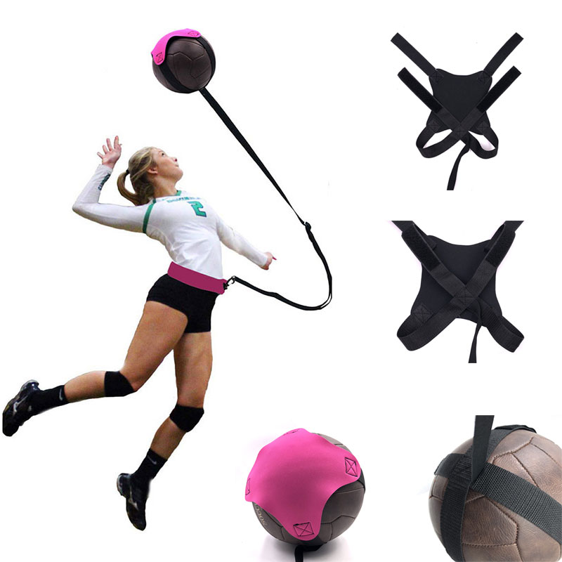 Outdoor Sports Beach Volleyball Supplie Portable Volleyball Kick Belt Volleyball Bag Training Equipment Volleyball Training Tool