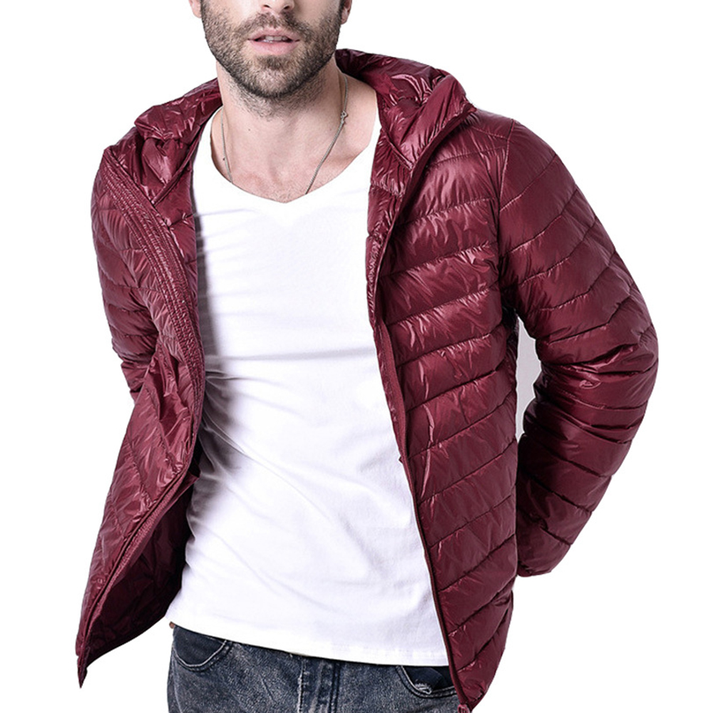 Winter Warm Jacket Men 2019 New Fashion Stand Collar Male Parka Jacket Mens Solid Thick Jackets And Coats Man Winter Parkas