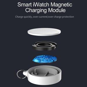 Image 3 - נייד מפתח טבעת שעון אלחוטי מטען USB כבלים עבור אפל iWatch סדרת 5 4 3 2 1 2W אלחוטי טעינה מהירה עבור iWatch 5 4 3