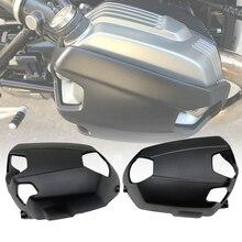 غطاء حماية لمحرك الدراجة النارية اسطوانية لراكبي ام دبليو R ناين تي RNINET R9T تشويش إذاعي نقي 2014 2020 R1200GS 2010 2012