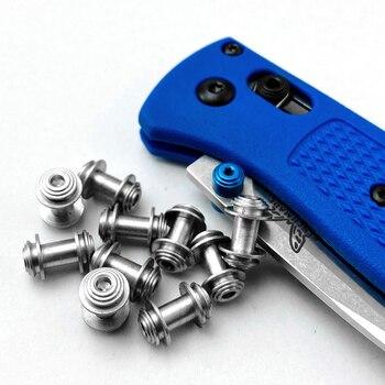 1 조각 샤프트 잠금 나사 나비 나이프 535 나사 Bugout 535 손톱 EDC 나이프 액세서리