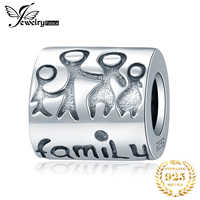 JewelryPalace Family 925 Sterling Silver Beads Charms Silver 925 Original For Bracelet Silver 925 original For Jewelry Making