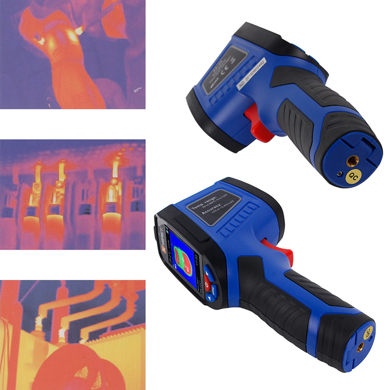 Image 5 - 2.4 inch Color Screen Handheld Thermal Imaging Camera Infrared  thermometer XE 26 XE 27 XE 28 Sries economic thermal imagerTemperature  Instruments