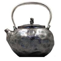 Bule de chá  bule de chá de aço inoxidável de prata  bule de chá  bule de chá de água quente  portátil bule 900 ml  kung fu jogo de chá.