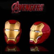 Marvel Infinity War Super Hero Iron Man Ashtray Action Figure Cosplay Boyfriend Husband Gifts Storage box B675