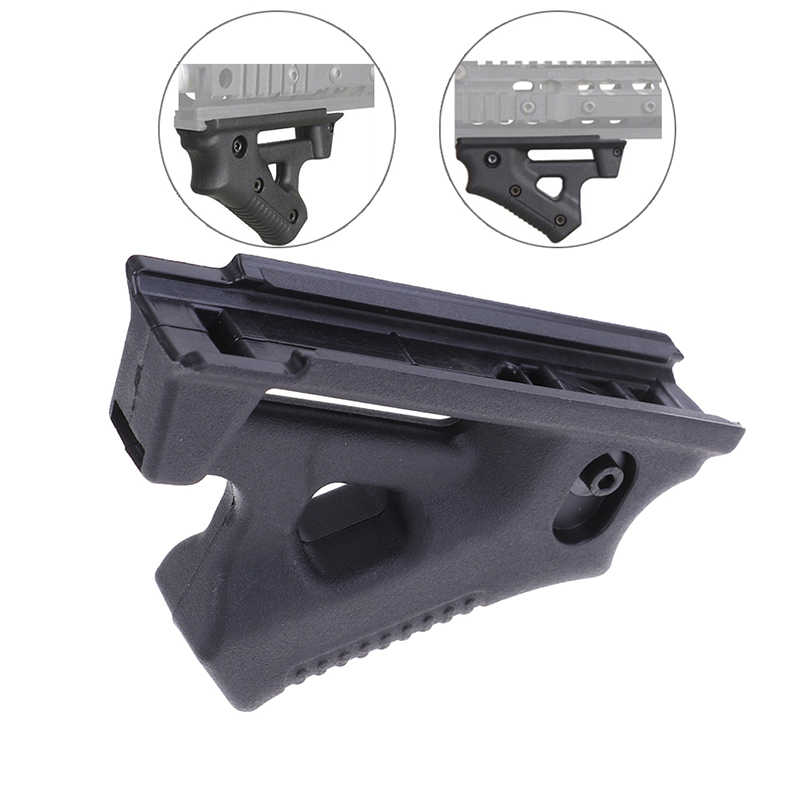 1Pc Tactical Paintball Airsoft Rvg Stijl Front Verticale Grip Voor Airsoft Bb AirGun1913 Rail Polymeer Grip Voor 20 Mm picatinny Rail