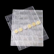 Storage-Collection Coin-Holder Money-Album Case Plastic Classic Sheet 20/30/42-pockets