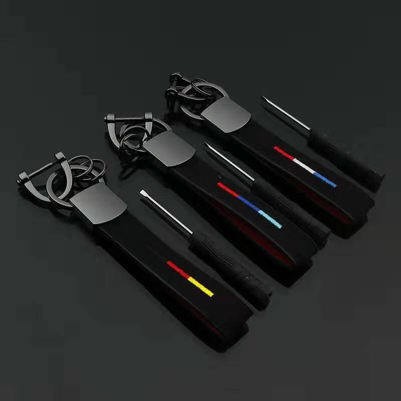 Автомобильный брелок кожаный чехол для ключей брелок для Mercedes Bmw Национальный флаг Италии Германия брикет авто