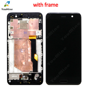 """Image 3 - 5.2"""" with Frame For HTC U Play LCD DIsplay + Touch Screen Digitizer Assembly For htc u play U 2u LCD free shipping"""