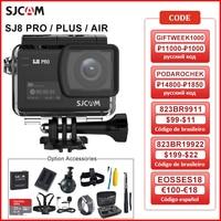 SJCAM-Cámara de acción serie SJ8 Air & SJ8 Plus y SJ8 Pro, 1290P, 4K, WIFI, Control remoto, impermeable, deportes, DV