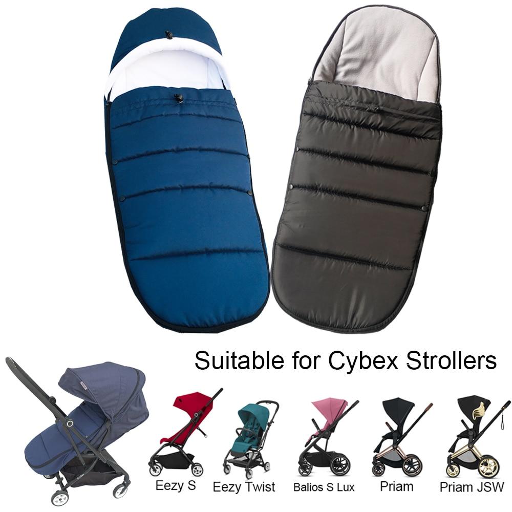 Baby Stroller Accessories Warm Sleepsack for Cybex Eezy Twist Winter Socks Sleeping Bag For Cybex Ee