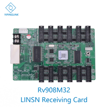 LINSN RV908 RV908M32 full color LED display control card LED receiving card video wall controller work with Linsn TS802D sender